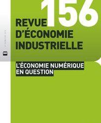 Appel à contributions pour un numéro spécial de la Revue d'Economie Industrielle