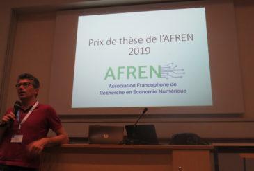 1er prix de thèse de l'AFREN